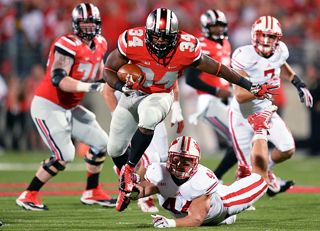 After beating Wisconsin, Carlos Hyde (34) and Ohio State will face another tough test at Northwestern.