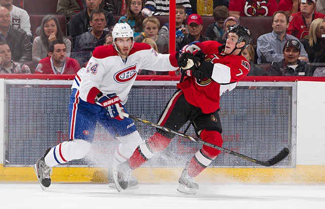 The Habs still ice the cast of <italics>Smurfs 2</italics> up front, but the presence of Tinordi ensures that they'll have a big, physical presence on the back end. The son of former NHLer Mark Tinordi plays exactly as you'd expect, making smart, simple plays and keeping the opposition honest. He'll be a boon to Montreal's struggling penalty kill, and might surprise with what he can bring offensively.
