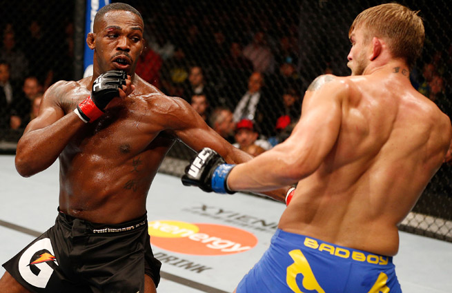Jon Jones remains the pound-for-pound champ despite Alexander Gustaffson's challenge at UFC 165.