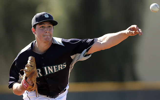Danny Hultzen is one of the Mariners' top pitching prospects in a stacked farm system.