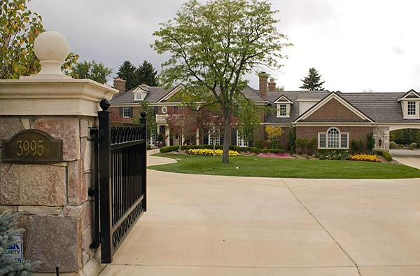 Upon signing with the Broncos, Manning bought this $4.5 million, seven-bedroom mansion in nearby Cherry Hills Village.