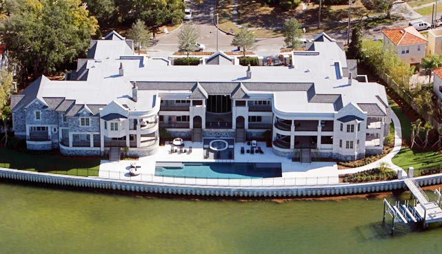 Derek Jeter's 300,000-square foot, seven-bedroom palace in Tampa has been nicknamed St. Jetersburg.