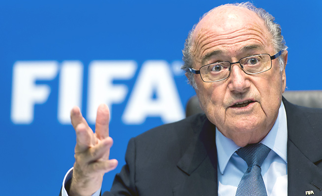 Sepp Blatter said a decision on whether to move the 2022 World Cup to winter may not come till 2015.