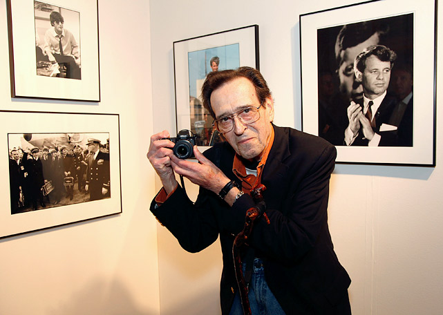 Bill Eppridge poses while attending Photo LA's 22nd Annual Photographic Art Exposition at Santa Monica Civic Auditorium on Jan. 17, 2013. A legendary photojournalist who spent most of his career working for <italics>Life</italics> magazine and <italics>Sports Illustrated</italics>, Eppridge died on Oct. 3, 2013. He was 75. Although Eppridge is perhaps most famously known for photographing the death of Sen. Robert F. Kennedy at the Ambassador Hotel in Los Angeles in 1968, he also shot a variety of athletes and sports moments throughout his storied career. Here are just some of those photos.