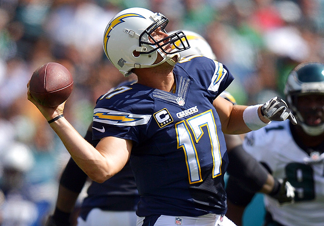 Before the season, Philip Rivers was just a fantasy backup. Now he's widely considered a starter.