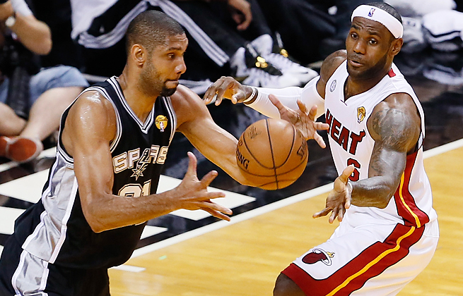LeBron James and the Heat hope an improved defensive effort will help them win a third straight title.