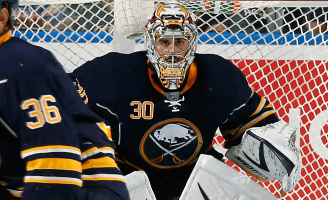 Sabres goalie Ryan Miller will sit out Saturday's game against the Penguins due to a lower-body injury.