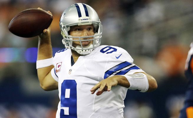 Tony Romo threw a game-ending interception against the Broncos, but was still fantasy football gold.