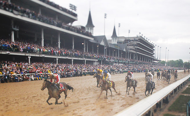 The new video board at Churchill Downs will be 15,224 square feet, larger than three basketball courts.