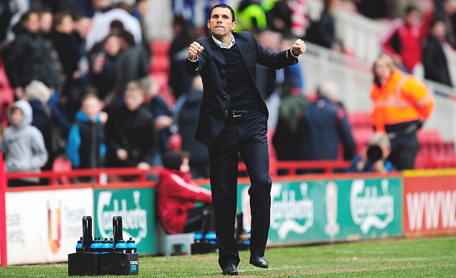 New manager Gus Poyet assumes the daunting task of rescuing Sunderland from its one-point start.