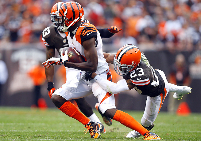 A.J. Green is bound to break out for a huge game, and it will come this week against the Bills.