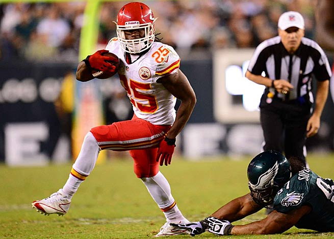 In their first season playing under Andy Reid, Jamaal Charles and the Chiefs are undefeated.