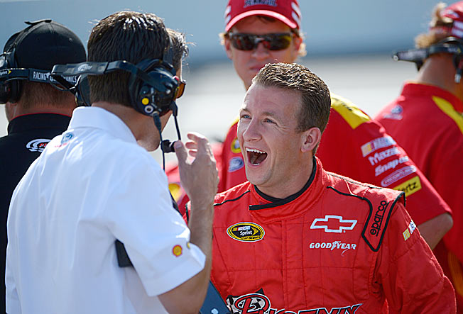 Available: Out of NASCAR's Chase, AJ Allmendinger currently ranks 32nd in the points standings.