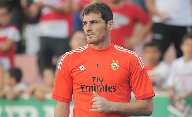 Benched by Real Madrid last season, Iker Casillas finally lost his job as Spain's starting goalkeeper, too.