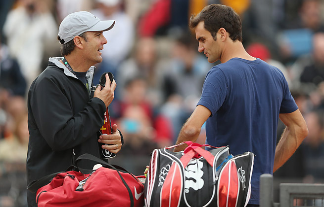 After failing to reach a Grand Slam final in 2013, Roger Federer will stop working with Paul Annacone.