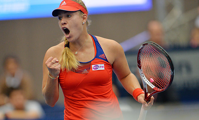 Tenth-ranked Angelique Kerber defeated two-time Linz champ Ana Ivanovic on Sunday.