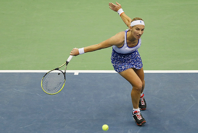 Svetlana Kuznetsova is looking to win her 14th career WTA title, her first since her 2010 win in San Diego.