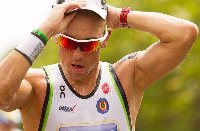 2013 Ironman World Champion Frederik Van Lierde may have topped all competitors in Hawaii, but he wasn't alone in bringing passion to the event.