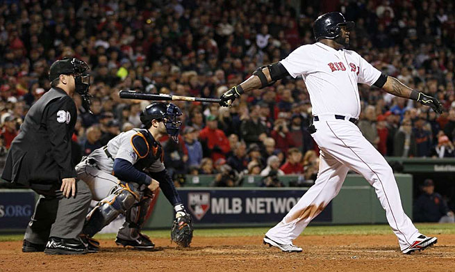 David Ortiz added to his October legend with a game-tying grand slam in ALCS Game 2.