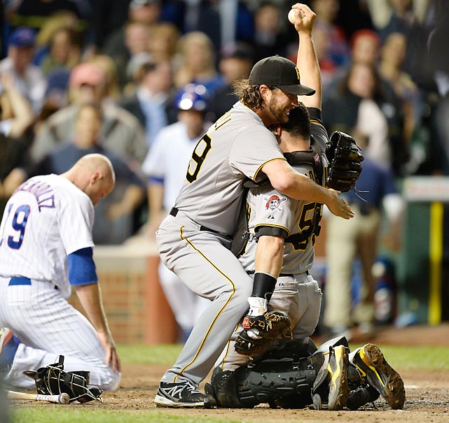 Before 2013, the Pittsburgh Pirates hadn't made the playoffs in 21 years. Not only that -- they never even had a winning team in that span. They never finished one lousy game above .500. That all changed when the Pirates clinched a playoff berth by beating the Chicago Cubs 2-1. Pittsburgh wound up clinching one of the NL's wild card spots.