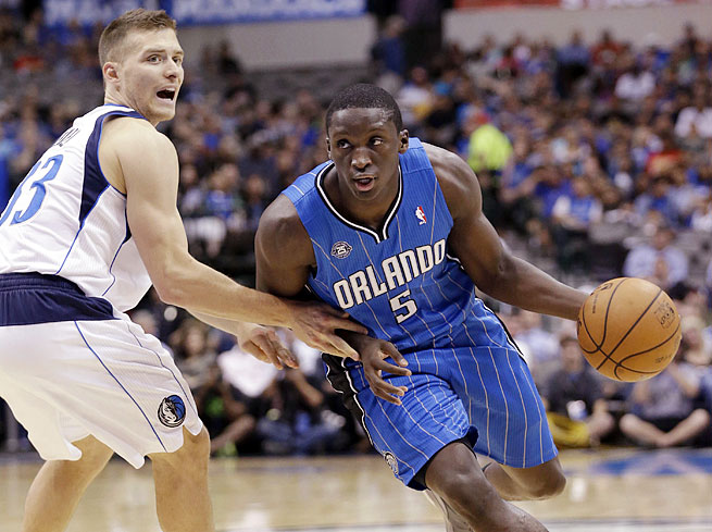 No. 2 pick Victor Oladipo is set to see playing time at both guard positions as a rookie for the Magic.