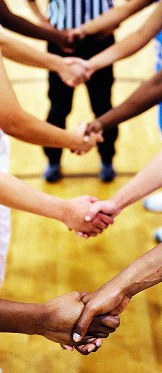 Citing more than 24 fights over the last three years, the Kentucky High School Athletic Association advised teams not to engage in postgame handshakes.
