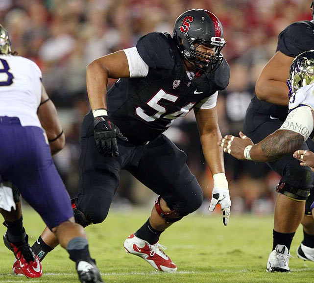 The coveted NFL prospect bolsters a Stanford line that has allowed just seven sacks in six games.