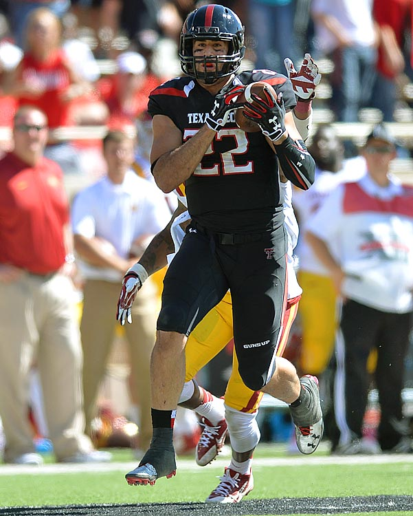 The top target leads Texas Tech in catches (47) and receiving yards (606) in the team's 6-0 start.