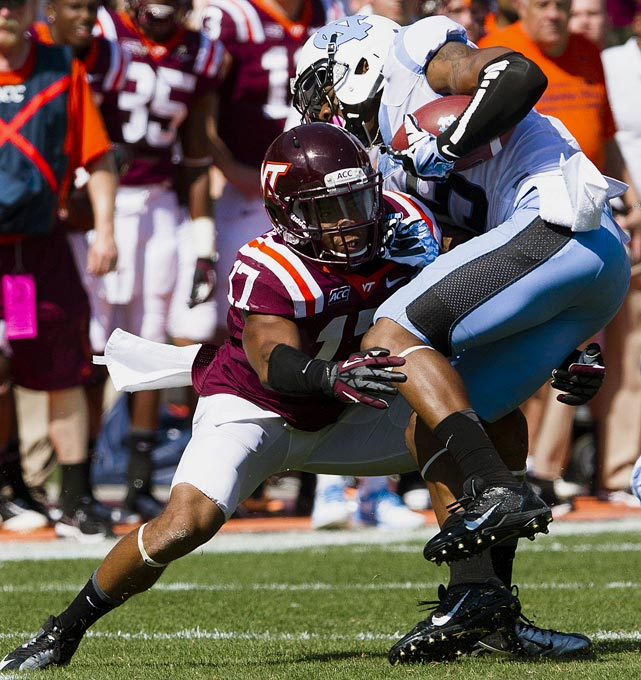 Fuller has two picks and 10 passes defended for the Hokies' D that ranks fourth nationally in total defense.