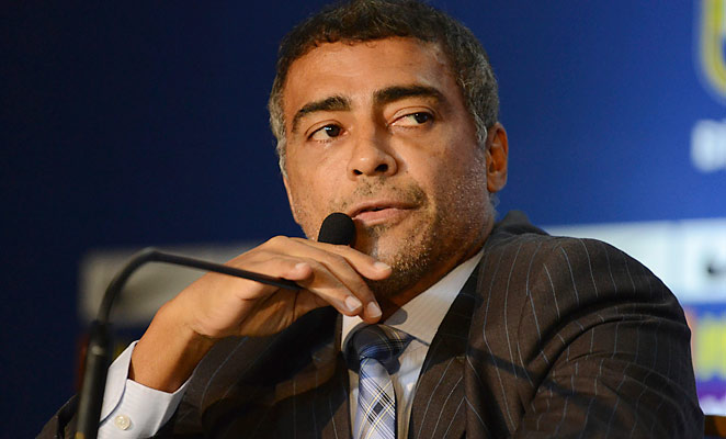 Romario, now a representative in the Brazilian Chamber of Deputies, has lashed out at FIFA.