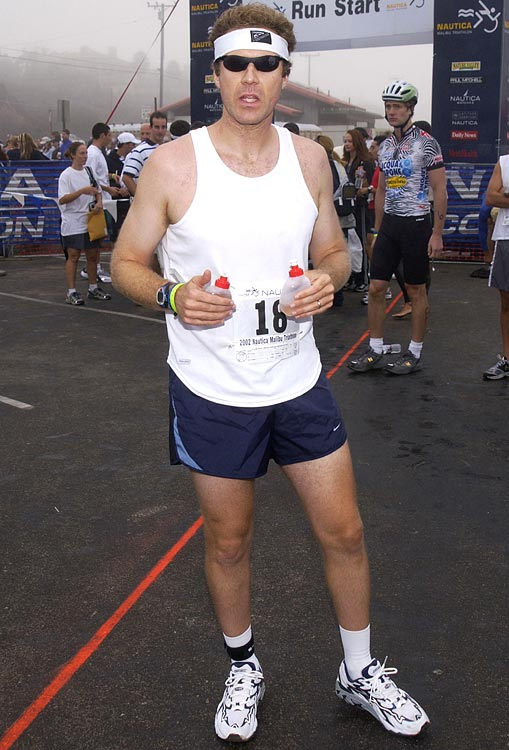 Will Ferrell stands ready at the 16th Annual Nautica Malibu Triathlon to Benefit the Elizabeth Glaser Pediatric AIDS Foundation on Sept. 15, 2002 at Zuma Beach in Malibu, Calif.