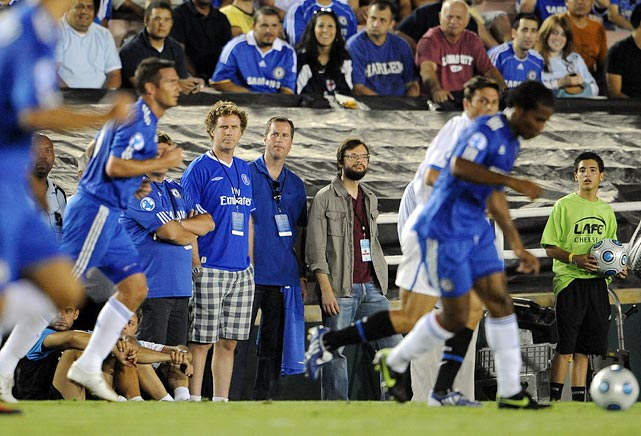 World Football Challenge between Chelsea and Inter Milan at the Rose Bowl in Pasadena, CA.