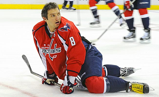 Just like last season, Alex Ovechkin's Capitals have fallen flat out of the starting gate.