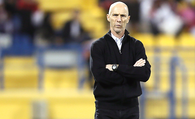 Bob Bradley's future in Egypt is in doubt after his squad's 6-1 loss to Ghana in a World Cup playoff.