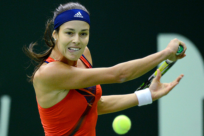 Ana Ivanovic easily cruised past Klara Zakopalova 6-3, 6-1 and will face Samantha Stosur next.