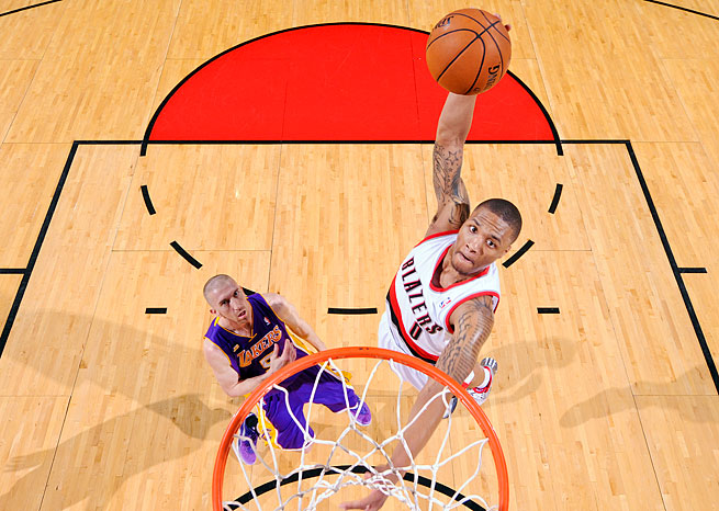 Damian Lillard led the NBA in minutes played last season, when he won the Rookie of the Year award.