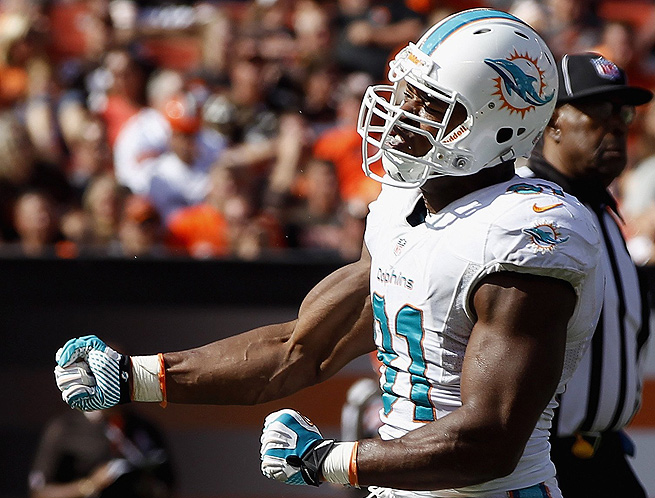 After fighting a knee injury the last two weeks, Cameron Wake should be at full strength versus Buffalo.