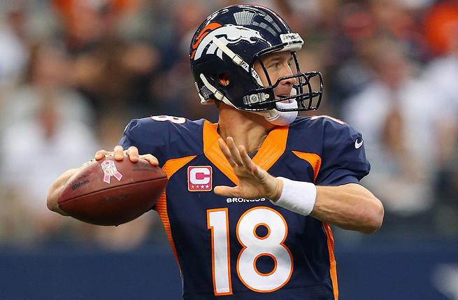 Peyton Manning will return to Lucas Oil Stadium Sunday to face his former team, the Indianapolis Colts.