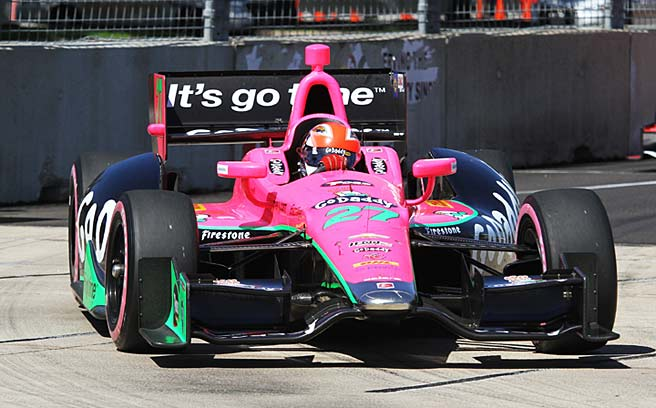 GoDaddy has decided that sponsoring an IndyCar doesn't make financial sense.
