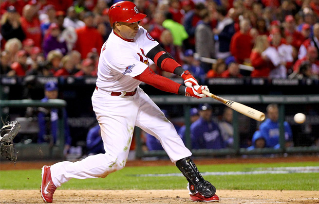 Carlos Beltran's huge postseason has helped guide the Cardinals to the World Series.