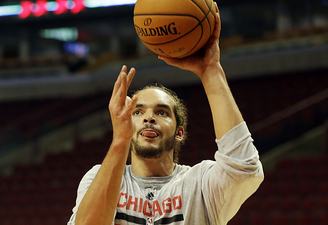The Bulls hope a week of rest will ease the discomfort of a lingering groin strain for Joakim Noah.