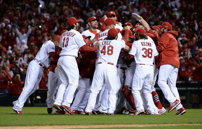 The Cardinals will be looking for the 12th World Series title in franchise history.