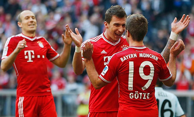 Mario Götze propelled Bayern to a come-from-behind victory over Mainz on Saturday.