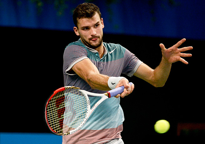 Grigor Dimitrov needed a full three sets to take down David Ferrer and win his first ATP title.