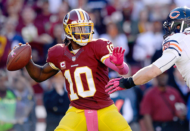 RGIII showed signs he's back as a legitimate fantasy stud, as did his tight end Jordan Reed.