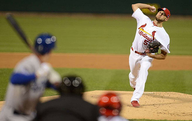 NLCS MVP Michael Wacha will be looking to help St. Louis to its third title in eight seasons.