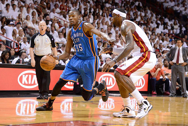 Can Kevin Durant and the Thunder squelch LeBron James and the Heat's three-peat hopes in '13-14?