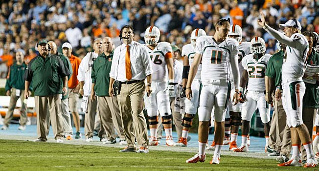 As the sanctions report loomed, coach Al Golden was trying to keep his 6-0 Hurricanes focused.