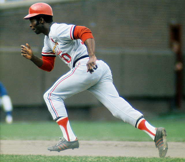 Brock had 14 steals and a .655 slugging percentage in three World Series. In the '74 season, he stole a then-record 118 bases.