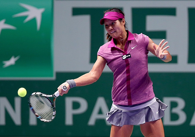 Li Na rallied in a tough second set to finally get the best of Sara Errani in Istanbul.